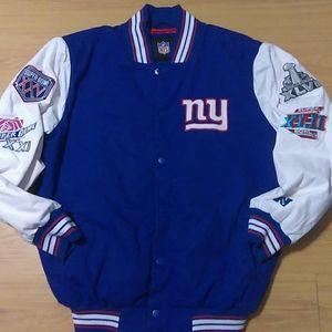 NY Giants Super Bowl  Varsity Jacket